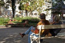 Free Couple In Meran Royalty Free Stock Photos - 1223548