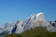 Free Summit Of Marmolada Royalty Free Stock Photo - 1224505