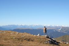 Free Man Taking Photo Of Breathtaking View Royalty Free Stock Images - 1224539