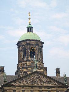 Free Royal Palace, Amsterdam Stock Images - 1224634