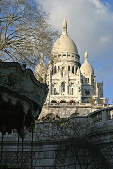 Free Sacré Coeur And Roundabout Stock Photo - 1224640