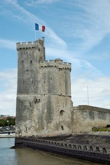 La Rochelle, The Saint-Nicholas Tower (France) Stock Photo