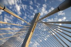 Free Bridge Detail 38 Stock Image - 1224851
