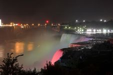 Free Niagara Falls By Night Stock Photography - 1225612