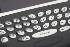 Free PDA Keyboard Stock Photo - 1225680