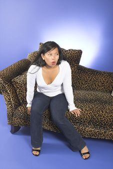 Free Woman Sitting Royalty Free Stock Photography - 1226057