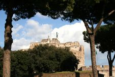 Free Castel Sant Angelo Royalty Free Stock Photo - 1226875
