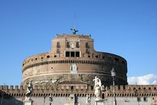 Free Castel Sant Angelo Royalty Free Stock Photos - 1226878