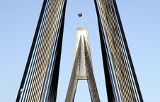 Anzac Bridge Stock Photo