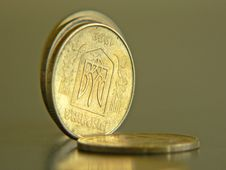 Free Ukrainian Coins Stock Image - 1227501