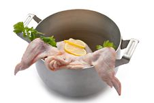 Raw Uncooked Chicken Stock Photos