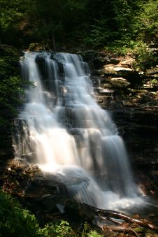 Free Ricketts Glen State Park Waterfall Royalty Free Stock Images - 1228179