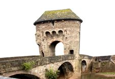 Free Monnow Gateway Bridge Monmouth Stock Image - 1229201