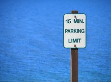 Free Parking Sign Royalty Free Stock Photography - 1229207