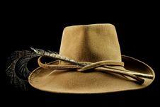 Free Posh Lady S Hat Stock Image - 1229571