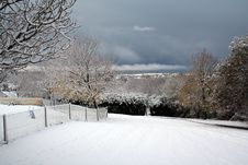 Free Snow Landscape Royalty Free Stock Photos - 1229878