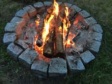 Free Campfire, Grilling, Fire, Barbecue Royalty Free Stock Images - 122107659