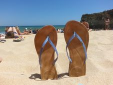 Free Footwear, Sand, Shoe, Vacation Stock Image - 122108121