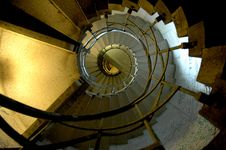 Free Yellow, Light, Spiral, Architecture Stock Photo - 122108220