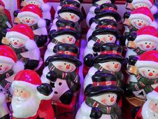 Free Christmas, Christmas Decoration, Snowman Stock Photography - 122108382
