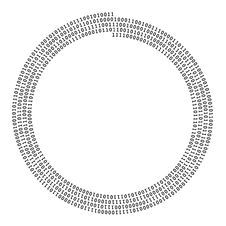 Free Spiral Shape Of Zero One Line Royalty Free Stock Photos - 122198188