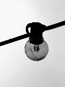 Free Black And White, Monochrome Photography, Monochrome, Light Fixture Royalty Free Stock Photo - 122203785