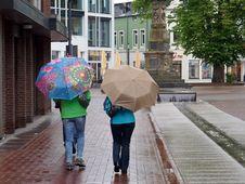 Free Umbrella, Street, Road, Walking Royalty Free Stock Image - 122203926