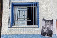 Free Blue, Window, Wall, Door Stock Photography - 122203952