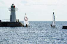 Free Waterway, Water, Sea, Lighthouse Royalty Free Stock Image - 122204326