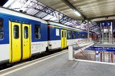 Free Metropolitan Area, Train Station, Transport, Train Stock Photography - 122204642