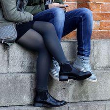 Free Footwear, Leg, Tights, Shoe Stock Images - 122204644