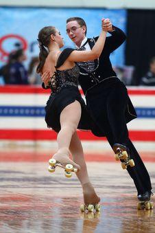 Free Skating, Ice Skating, Figure Skating, Footwear Royalty Free Stock Image - 122204716