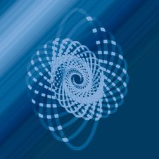 Free Blue, Circle, Azure, Spiral Stock Image - 122204781