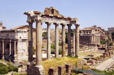 Free Ancient Roman Architecture, Historic Site, Ancient Rome, Ruins Stock Images - 122204874