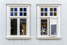 Free Window, Facade, Sash Window, House Royalty Free Stock Photography - 122205007