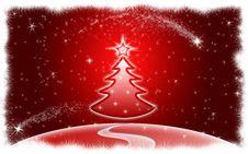 Free Christmas Tree Stock Photography - 12251722