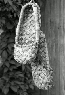 Free Bust Shoes BW Royalty Free Stock Photos - 12273938