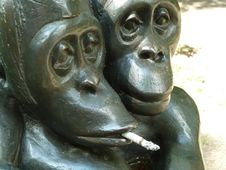 Free Sculpture, Metal, Bronze, Statue Stock Images - 122700784