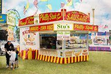 Free Fair, Amusement Park, Fast Food, Festival Stock Photos - 122700893