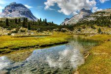 Free Reflection, Nature, Mountainous Landforms, Mountain Royalty Free Stock Images - 122700969
