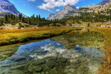 Free Reflection, Nature, Mountainous Landforms, Mountain Stock Photography - 122700982