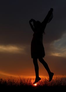 Free Sky, Silhouette, Sunset, Sunrise Stock Photo - 122701500