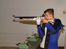 Free Gallery Rifle Shooting, Gun, Firearm, Shooting Range Royalty Free Stock Photos - 122701578