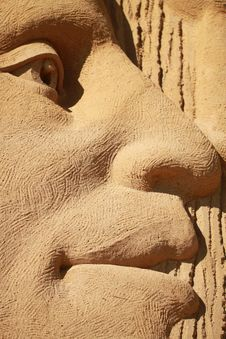 Free Stone Carving, Nose, Head, Carving Royalty Free Stock Image - 122828326