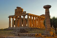Free Historic Site, Ancient Greek Temple, Ruins, Ancient History Stock Photos - 122828473