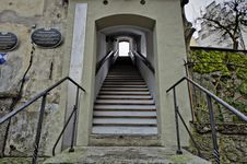 Free Building, Stairs, Tree, Arch Royalty Free Stock Photo - 122829065