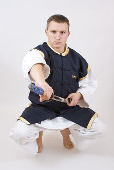 Free Karate Men Royalty Free Stock Images - 12296289