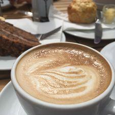 Free Cappuccino, Coffee, Wiener Melange, Latte Stock Photos - 122924673