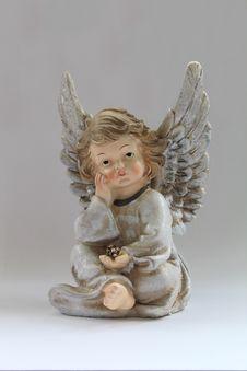 Free Figurine, Angel, Supernatural Creature, Doll Royalty Free Stock Image - 122924766