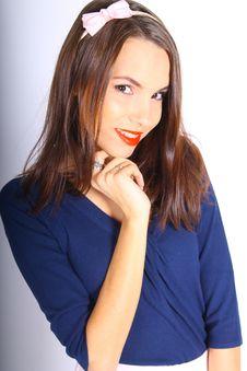 Free Beauty, Human Hair Color, Model, Fashion Model Royalty Free Stock Image - 122924936